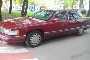 Автомобиль Cadillac De Ville, среднее состояние, 1994 года выпуска, цена 280 000 руб., Москва