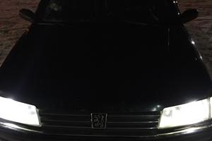Автомобиль Peugeot 605, среднее состояние, 1993 года выпуска, цена 90 000 руб., Одинцово