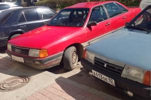 Подержанный автомобиль Audi 100, среднее состояние, 1987 года выпуска, цена 60 000 руб., Крым