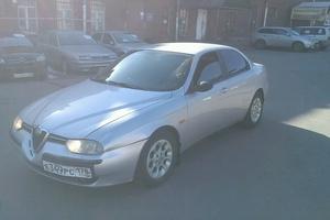 Автомобиль Alfa Romeo 156, среднее состояние, 2000 года выпуска, цена 120 000 руб., Санкт-Петербург