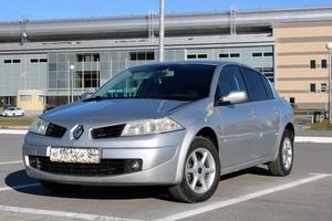 Автомобиль Renault Megane, хорошее состояние, 2007 года выпуска, цена 315 000 руб., Ханты-Мансийск