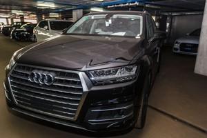 Новый автомобиль Audi Q7, 2017 года выпуска, цена 5 692 803 руб., Москва