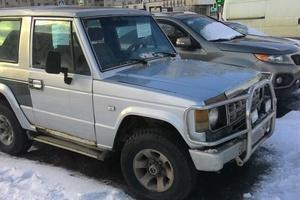 Автомобиль Hyundai Galloper, плохое состояние, 1993 года выпуска, цена 100 000 руб., Москва
