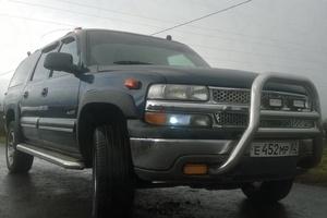 Подержанный автомобиль Chevrolet Suburban, хорошее состояние, 2002 года выпуска, цена 350 000 руб., Белгородская область