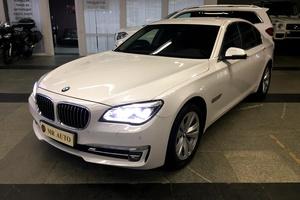 Подержанный автомобиль BMW 7 серия, отличное состояние, 2014 года выпуска, цена 2 749 000 руб., Московская область