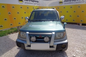 Авто Mitsubishi Pajero Pinin, 1998 года выпуска, цена 209 000 руб., Самара