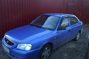 Подержанный автомобиль Hyundai Accent, хорошее состояние, 2005 года выпуска, цена 215 000 руб., Дедовск