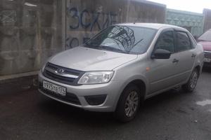 Подержанный автомобиль ВАЗ (Lada) Granta, отличное состояние, 2016 года выпуска, цена 355 000 руб., Челябинск