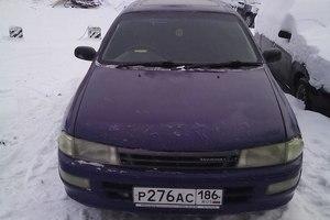 Автомобиль Toyota Carina, среднее состояние, 1992 года выпуска, цена 75 000 руб., Сургут