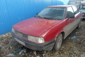 Автомобиль Audi 80, хорошее состояние, 1990 года выпуска, цена 80 000 руб., Липецк