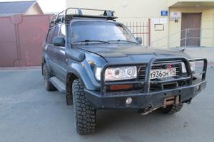Автомобиль Toyota Land Cruiser, отличное состояние, 1996 года выпуска, цена 700 000 руб., Челябинск