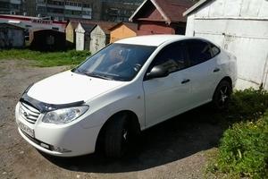 Подержанный автомобиль Hyundai Elantra, хорошее состояние, 2010 года выпуска, цена 400 000 руб., Бакал