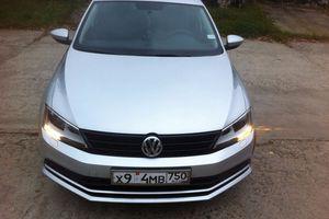 Подержанный автомобиль Volkswagen Jetta, отличное состояние, 2015 года выпуска, цена 850 000 руб., Коломна