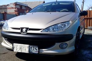 Автомобиль Peugeot 206, хорошее состояние, 2008 года выпуска, цена 230 000 руб., Челябинск