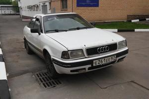 Подержанный автомобиль Audi 80, хорошее состояние, 1987 года выпуска, цена 40 000 руб., Москва