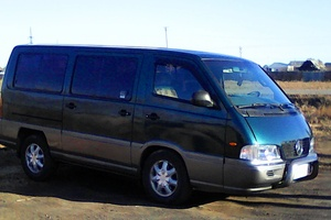 Автомобиль SsangYong Istana, хорошее состояние, 1997 года выпуска, цена 370 000 руб., Иркутск