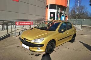 Подержанный автомобиль Peugeot 206, хорошее состояние, 2002 года выпуска, цена 175 000 руб., Королев