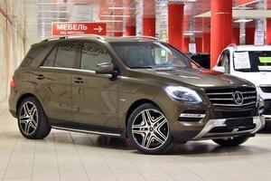 Авто Mercedes-Benz M-Класс, 2013 года выпуска, цена 1 955 555 руб., Москва