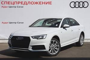Новый автомобиль Audi A4, 2016 года выпуска, цена 2 768 000 руб., Сочи