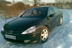 Автомобиль Peugeot 607, хорошее состояние, 2001 года выпуска, цена 325 000 руб., Липецк