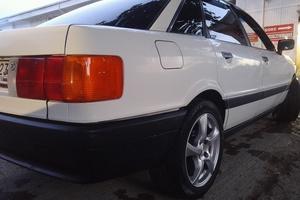 Подержанный автомобиль Audi 80, хорошее состояние, 1991 года выпуска, цена 135 000 руб., Краснодар