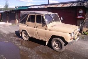 Автомобиль УАЗ 469, среднее состояние, 1982 года выпуска, цена 60 000 руб., Трехгорный