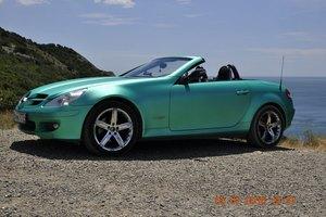 Автомобиль Mercedes-Benz SLK-Класс, среднее состояние, 2004 года выпуска, цена 550 000 руб., Москва
