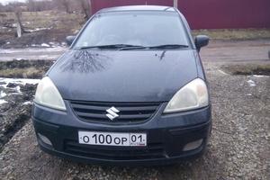Автомобиль Suzuki Aerio, хорошее состояние, 2003 года выпуска, цена 250 000 руб., Майкоп