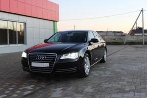 Подержанный автомобиль Audi A8, отличное состояние, 2012 года выпуска, цена 1 650 000 руб., Краснодар