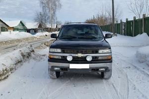 Автомобиль Chevrolet Suburban, хорошее состояние, 2001 года выпуска, цена 800 000 руб., Екатеринбург