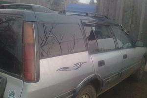 Автомобиль Toyota Sprinter Carib, хорошее состояние, 1990 года выпуска, цена 100 000 руб., Хабаровский край