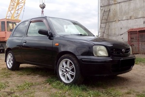 Автомобиль Nissan March, отличное состояние, 1998 года выпуска, цена 149 000 руб., Курган