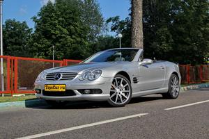 Авто Mercedes-Benz SL-Класс, 2002 года выпуска, цена 1 498 000 руб., Москва