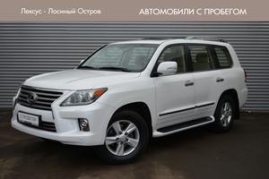 Авто Lexus LX, 2014 года выпуска, цена 3 495 000 руб., Москва