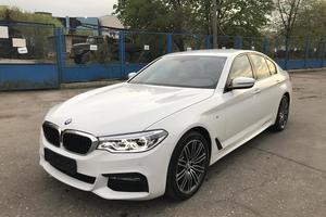 Подержанный автомобиль BMW 5 серия, отличное состояние, 2017 года выпуска, цена 3 999 000 руб., Московская область