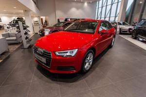 Новый автомобиль Audi A4, 2017 года выпуска, цена 1 873 585 руб., Москва