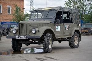Автомобиль ГАЗ 69, хорошее состояние, 1969 года выпуска, цена 150 000 руб., Омск