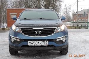 Подержанный автомобиль Kia Sportage, хорошее состояние, 2014 года выпуска, цена 950 000 руб., Луховицы