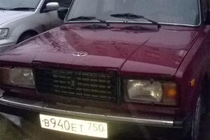 Подержанный автомобиль ВАЗ (Lada) 2107, хорошее состояние, 2005 года выпуска, цена 60 000 руб., Одинцово