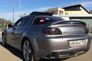 Автомобиль Mazda RX-8, хорошее состояние, 2004 года выпуска, цена 400 000 руб., Москва