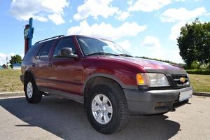 Автомобиль Chevrolet Blazer, отличное состояние, 1997 года выпуска, цена 190 000 руб., Старый Оскол