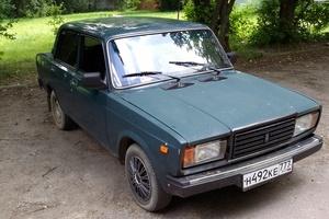 Подержанный автомобиль ВАЗ (Lada) 2107, среднее состояние, 2004 года выпуска, цена 40 000 руб., Железнодорожный