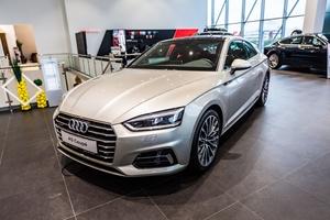 Авто Audi A5, 2017 года выпуска, цена 3 234 991 руб., Москва