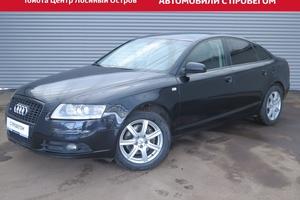 Подержанный автомобиль Audi A6, отличное состояние, 2008 года выпуска, цена 735 000 руб., Москва