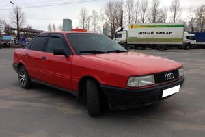 Автомобиль Audi 80, хорошее состояние, 1990 года выпуска, цена 80 000 руб., Нижний Новгород