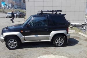 Автомобиль Mitsubishi Pajero Junior, среднее состояние, 1996 года выпуска, цена 190 000 руб., Владивосток