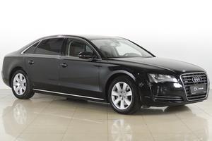 Подержанный автомобиль Audi A8, отличное состояние, 2011 года выпуска, цена 1 245 000 руб., Москва