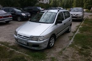 Автомобиль Mitsubishi Space Star, среднее состояние, 1999 года выпуска, цена 80 000 руб., Йошкар-Ола