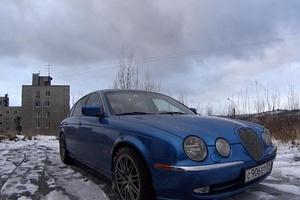 Автомобиль Jaguar S-Type, хорошее состояние, 2002 года выпуска, цена 300 000 руб., Мурманская область