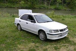 Автомобиль Nissan Sunny, хорошее состояние, 1999 года выпуска, цена 80 000 руб., Вольск